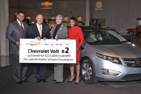 NASCAR Team Owner Gives $225,000 to Charity for a Chevrolet Volt featured image large thumb0