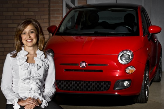 An Italian American Woman Takes the Helm at North America's Fiat Brand featured image large thumb0
