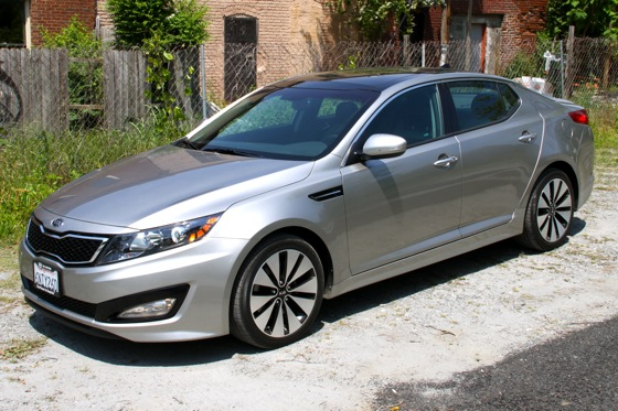 2011 Kia Optima - New Car Review featured image large thumb0