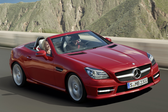 First Look at the 2012 Mercedes-Benz SLK Roadster featured image large thumb0