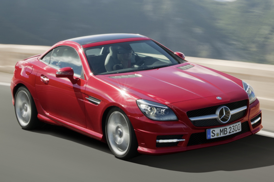 First Look at the 2012 Mercedes-Benz SLK Roadster featured image large thumb1
