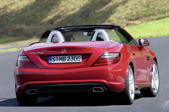 First Look at the 2012 Mercedes-Benz SLK Roadster featured image large thumb2