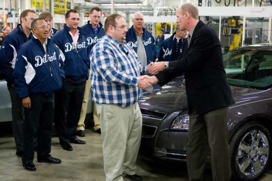 Chevy Gives New Malibu to Michigan Crash Victim featured image large thumb0
