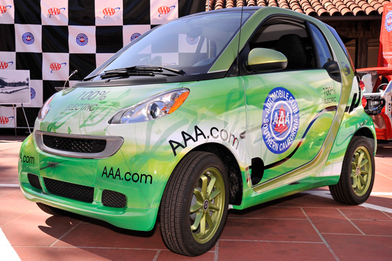 AAA Adds Smart EVs to its Rescue Fleet featured image large thumb0