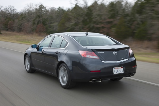 2012 Acura TL First Look: Refreshing Design Changes featured image large thumb14
