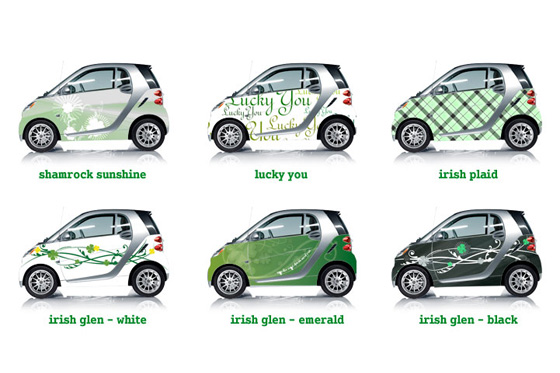 Smart fortwo Dresses Up for St. Patrick's Day featured image large thumb0