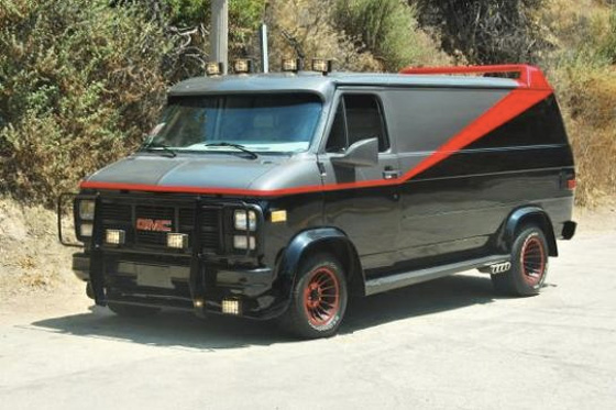 For Sale on AutoTrader: A-Team Van (Replica) featured image large thumb0