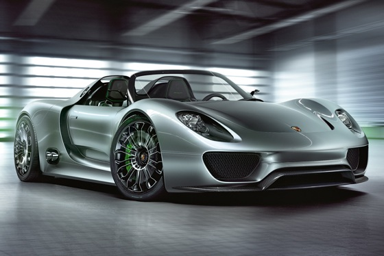 Porsche Now Taking Names for 918 Spyder Plug-In Hybrid featured image large thumb0