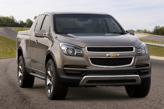 Next Generation Chevrolet Colorado Pickup is Eye Candy featured image large thumb0