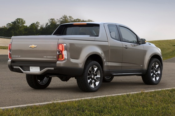 Next Generation Chevrolet Colorado Pickup is Eye Candy featured image large thumb2
