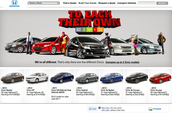 Honda Rolls Out 2012 Civic Configurator featured image large thumb0
