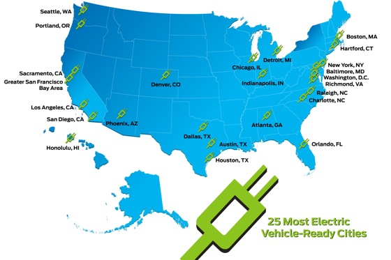 Top 25 Electric Vehicle-Ready Cities featured image large thumb0