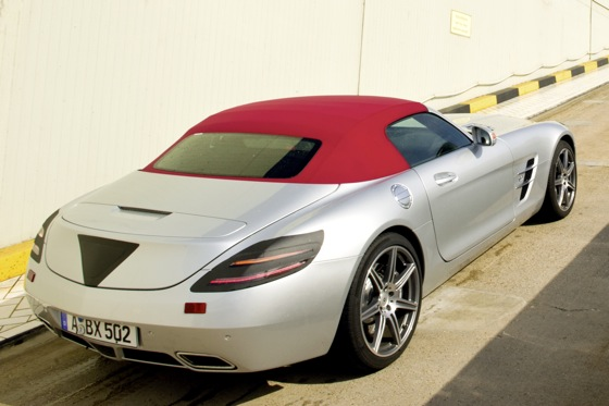 Look, Ma, No Wings - 2012 Mercedes Benz SLS AMG Roadster featured image large thumb0
