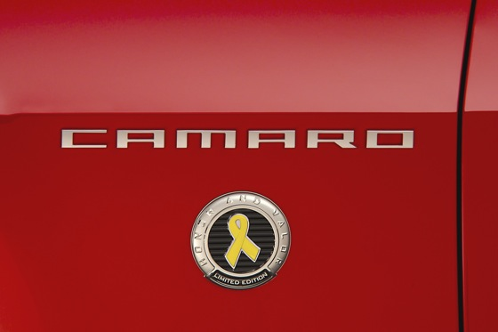 Chevrolet Rolls Out Special Camaro for U.S. Military featured image large thumb0