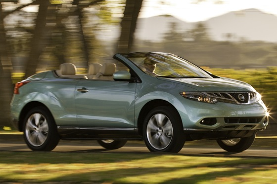 First Drive: 2011 Nissan Murano CrossCabriolet, Breaking New Ground featured image large thumb0