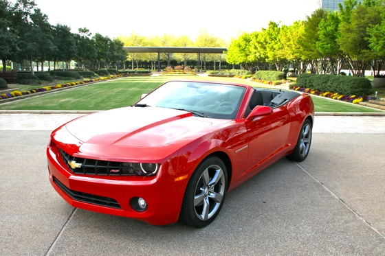 2011 Chevrolet Camaro Convertible V6 First Drive featured image large thumb0