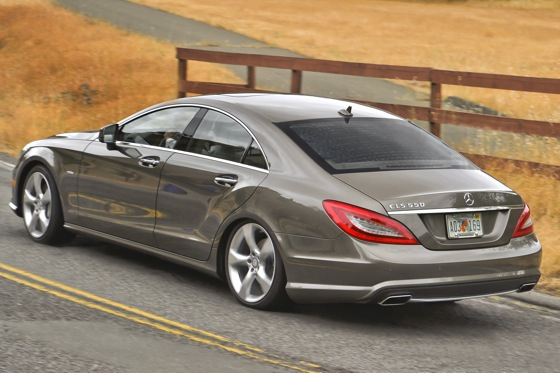 2012 Mercedes-Benz CLS550 - First Drive featured image large thumb1