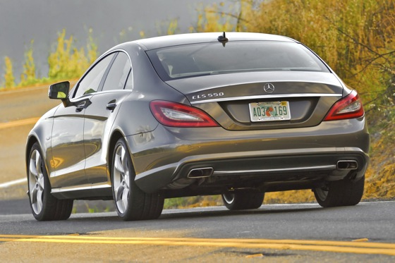2012 Mercedes-Benz CLS550 - First Drive featured image large thumb2