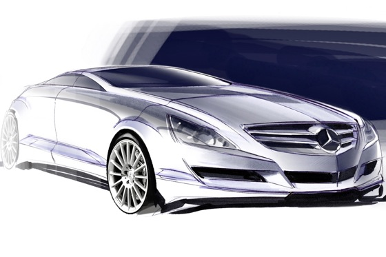 2012 Mercedes-Benz CLS - A New Form featured image large thumb1