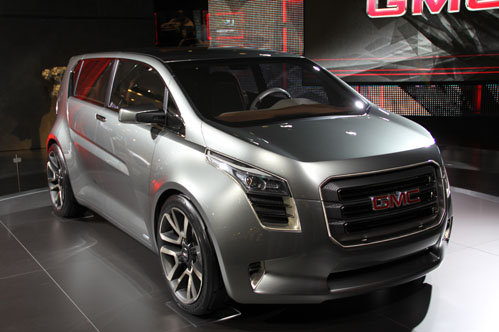 The GMC Granite is a concept car designed for remarkable fuel efficiency