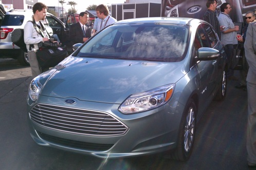 Ford Launches the 2012 Ford Focus Electric at CES - 2011 Consumer Electronics Show featured image large thumb1