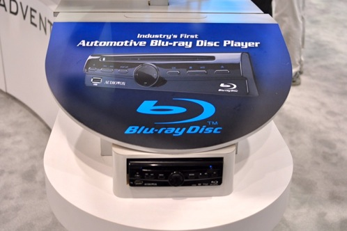Audiovox Product Allows Both Blue-ray and Regular DVDs for Your Car - 2011 Consumer Electronics Show featured image large thumb0