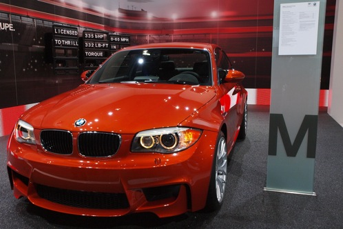 2011 BMW 1 Series M Coupe - 2011 Detroit Auto Show featured image large thumb1