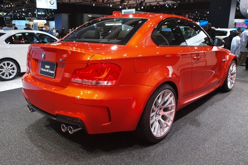 2011 BMW 1 Series M Coupe - 2011 Detroit Auto Show featured image large thumb3