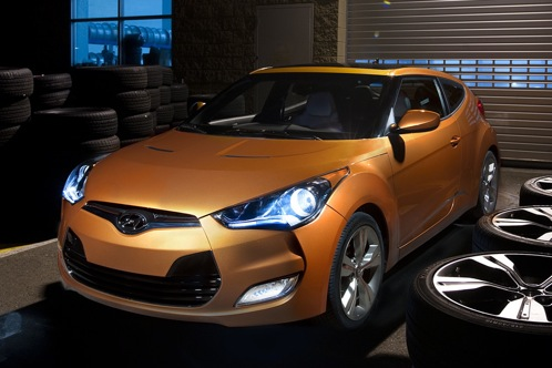 2012 Hyundai Veloster - 2011 Detroit Auto Show featured image large thumb0