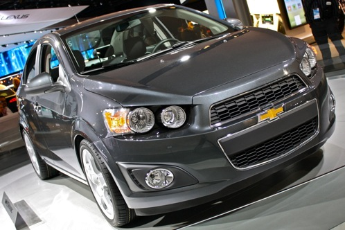 2012 Chevrolet Sonic - 2011 Detroit Auto Show featured image large thumb1