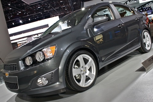 2012 Chevrolet Sonic - 2011 Detroit Auto Show featured image large thumb2