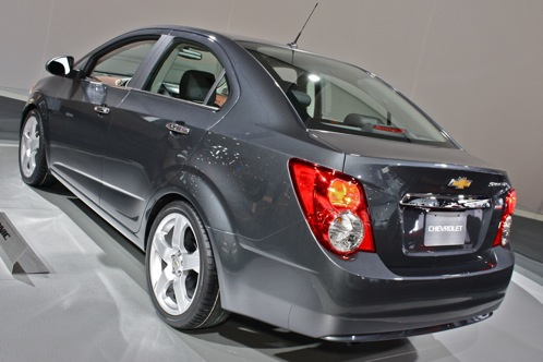 2012 Chevrolet Sonic - 2011 Detroit Auto Show featured image large thumb3