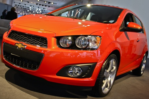2012 Chevrolet Sonic - 2011 Detroit Auto Show featured image large thumb4