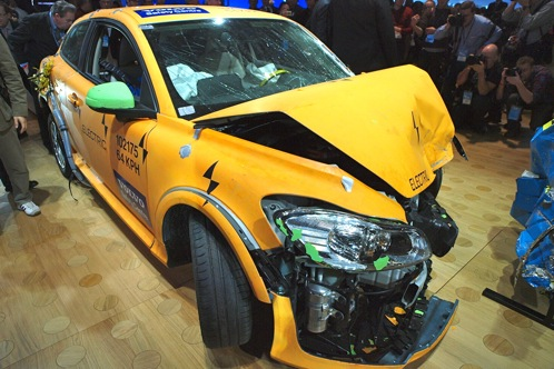 Crashed: Volvo C30 Electric - 2011 Detroit Auto Show featured image large thumb0