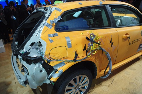 Crashed: Volvo C30 Electric - 2011 Detroit Auto Show featured image large thumb1