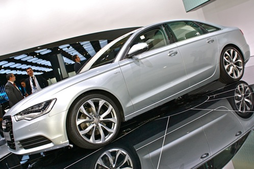 2011 Audi A6 - 2011 Detroit Auto Show featured image large thumb1