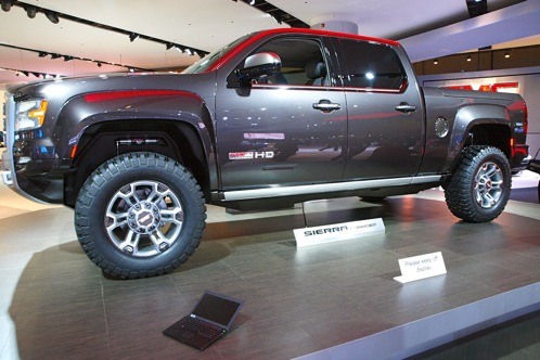 GMC Sierra All Terrain HD Concept - 2011 Detroit Auto Show featured image large thumb1