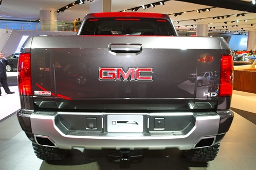 GMC Sierra All Terrain HD Concept - 2011 Detroit Auto Show featured image large thumb2