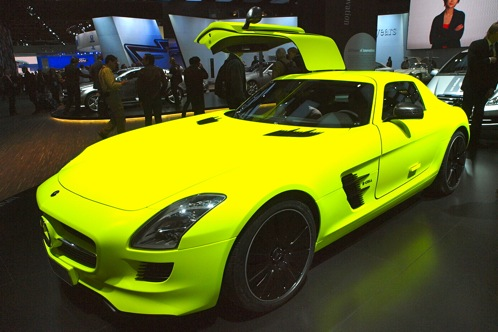 Mercedes-Benz SLS AMG E-Cell - 2011 Detroit Auto Show featured image large thumb0