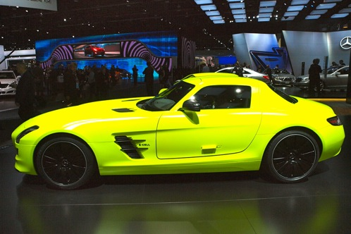 Mercedes-Benz SLS AMG E-Cell - 2011 Detroit Auto Show featured image large thumb1
