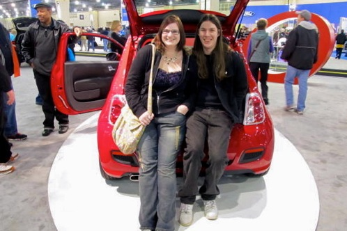2011 Philadelphia Auto Show - Fiat 500 Attracts a Broad Age Group featured image large thumb1
