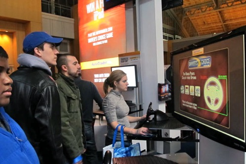 2011 Philadelphia Auto Show - AutoTrader's Booth at the Philadelphia Auto Show Attracts Gamers featured image large thumb0