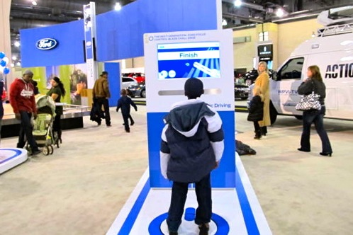 2011 Philadelphia Auto Show - Ford Booth Improves its Chi with a Feng Shui featured image large thumb1