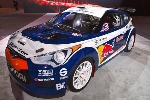 2012 Hyundai Veloster and Rallycross Version - Chicago Auto Show featured image large thumb0