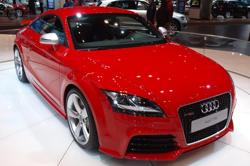 2012 Audi TT RS - Chicago Auto Show featured image large thumb1
