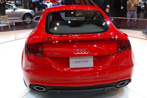 2012 Audi TT RS - Chicago Auto Show featured image large thumb2