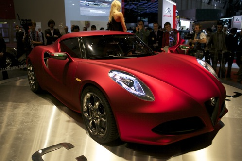 Alfa Romeo 4C Concept - Geneva Auto Show featured image large thumb0