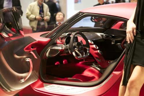Alfa Romeo 4C Concept - Geneva Auto Show featured image large thumb2