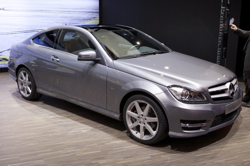 2012 Mercedes-Benz C-Class Coupe - Geneva Auto Show featured image large thumb0