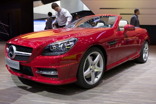 2012 Mercedes-Benz SLK350 - Geneva Auto Show featured image large thumb0